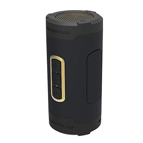 Scosche BoomBottle H2O+ Rugged Waterproof Wireless Speaker Black/Gold