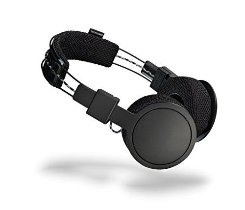 URBANEARS Hellas Wireless On-Ear Headphones, Sweat-Resistant Bluetooth Sports Headphone, with up to 14 Hours of Cord Free Playtime and Built-in Swipe Interface, Black Belt
