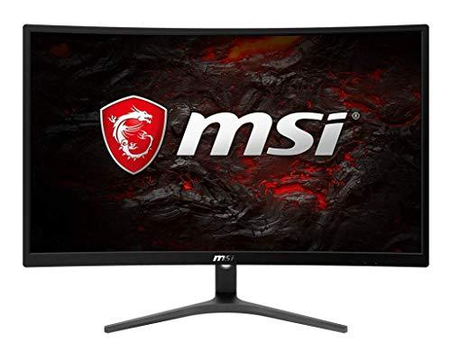MSI Full HD FreeSync Gaming Monitor 24″ Curved Non-Glare 1ms LED Wide Screen 1920 X 1080 75Hz Refresh Rate (Optix G241VC)