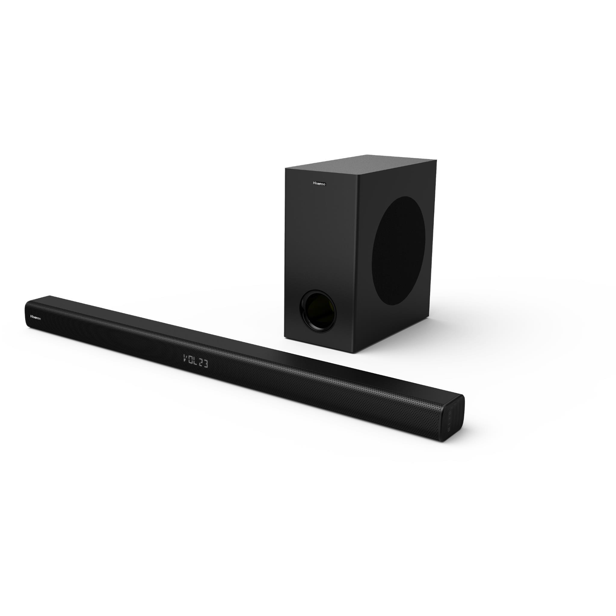 Hisense HS218 2.1 Channel Sounbar with Wiress Subwoofer