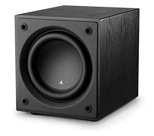 d110 Ash 10″ Subwoofer with 750 Watts of Power for Home Theatre and Music, Wireless Ready