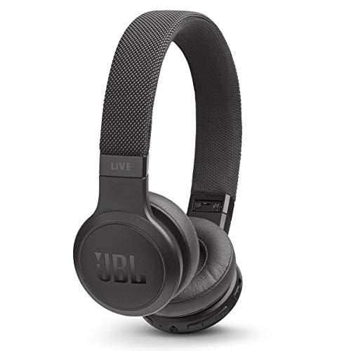 JBL Live 400BT – On-Ear Wireless Headphones – Black
