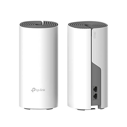 TP-Link Deco AC1200 Whole Home Mesh Wi-Fi (2-Pack) – Replaces Routers and Wi-Fi Extenders, Works with Alexa, Up to 260 Sq.m. Coverage (Deco E4 2-Pack)