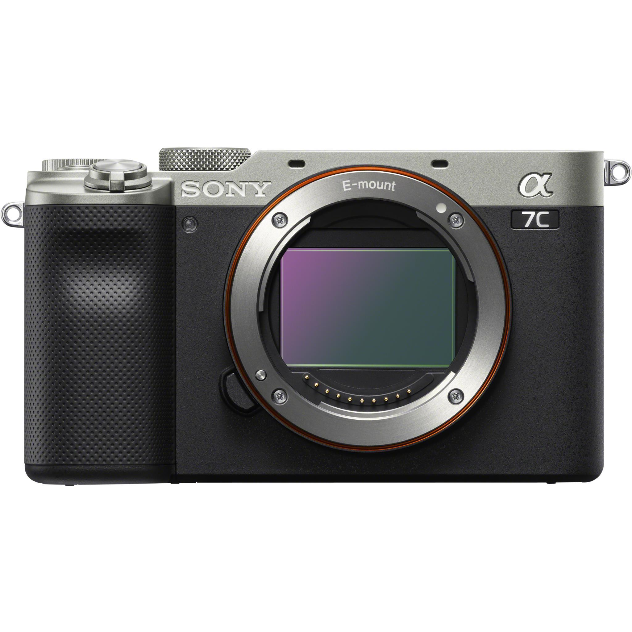 Sony Alpha a7C Full Frame Mirrorless Camera [Body Only] (Silver)