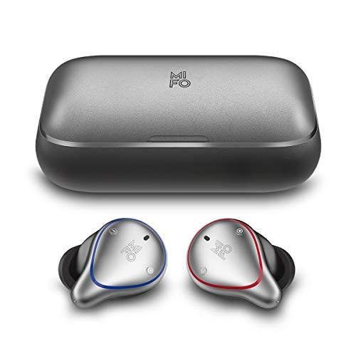 [Upgraded Version]True Stereo Wireless Earbuds 05 Plus by MIFO, TWS Bluetooth 5.0 Wireless Sports Headphones with 2600mAh Charging Case, Immersive Deep Bass Independent Wireless Headset, Transparent Mode Bulit-in Mic Headset, One-Step Pairing