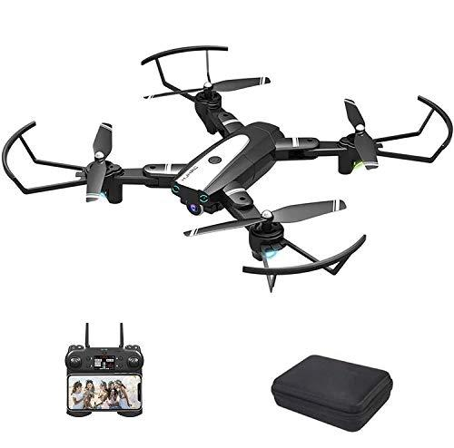 B-Qtech Drone with Camera, 4K HD Foldable WiFi RC Quadcopter for Adults & Kids, 30 Min Long Flight Time, One Key Return, Live Video, Orbit Flight, Headless Mode