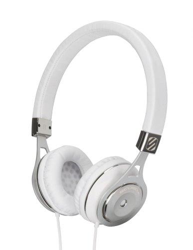 Scosche rh656m Realm On – Ear Headphones with tapLINE III – Retail Packaging – White