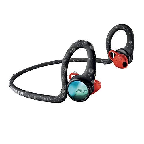 Plantronics BackBeat FIT 2100 Wireless Headphones, Sweatproof and Waterproof In Ear Workout Headphones, Black