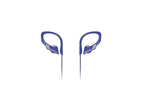 Panasonic Bluetooth IPX2 Water Resistant Sports Earphones, Blue, (RP-BTS10E-A)