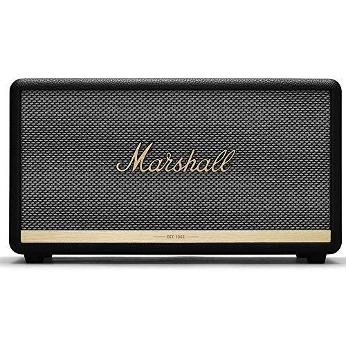 Marshall 1001902 Stanmore II Bluetooth Speaker, The Legendary Wireless Speaker, with Larger Than Life Customisable Sound, Black