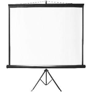Standard Portable Tripod Projection Screen 96″