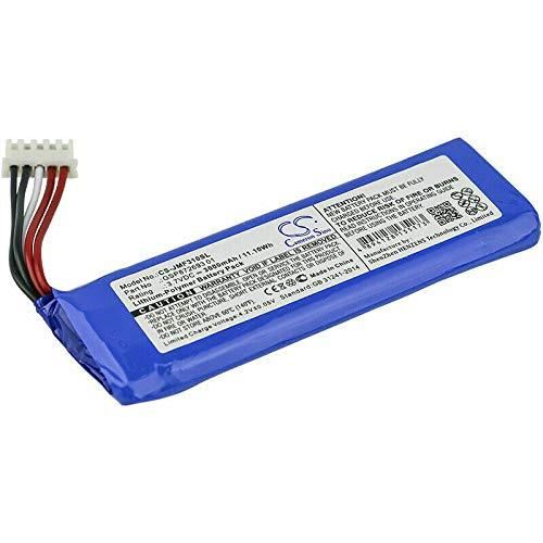 Timetech Replacement Battery Compatible for JBL Flip 4 Portable Bluetooth Speaker GSP872693 01