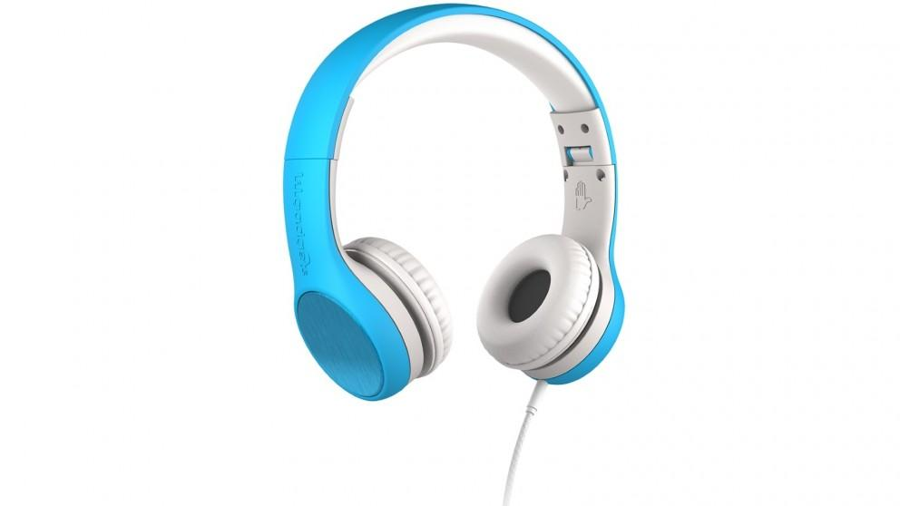 LilGadgets Connect plus Style Children's Wired Headphones – Blue
