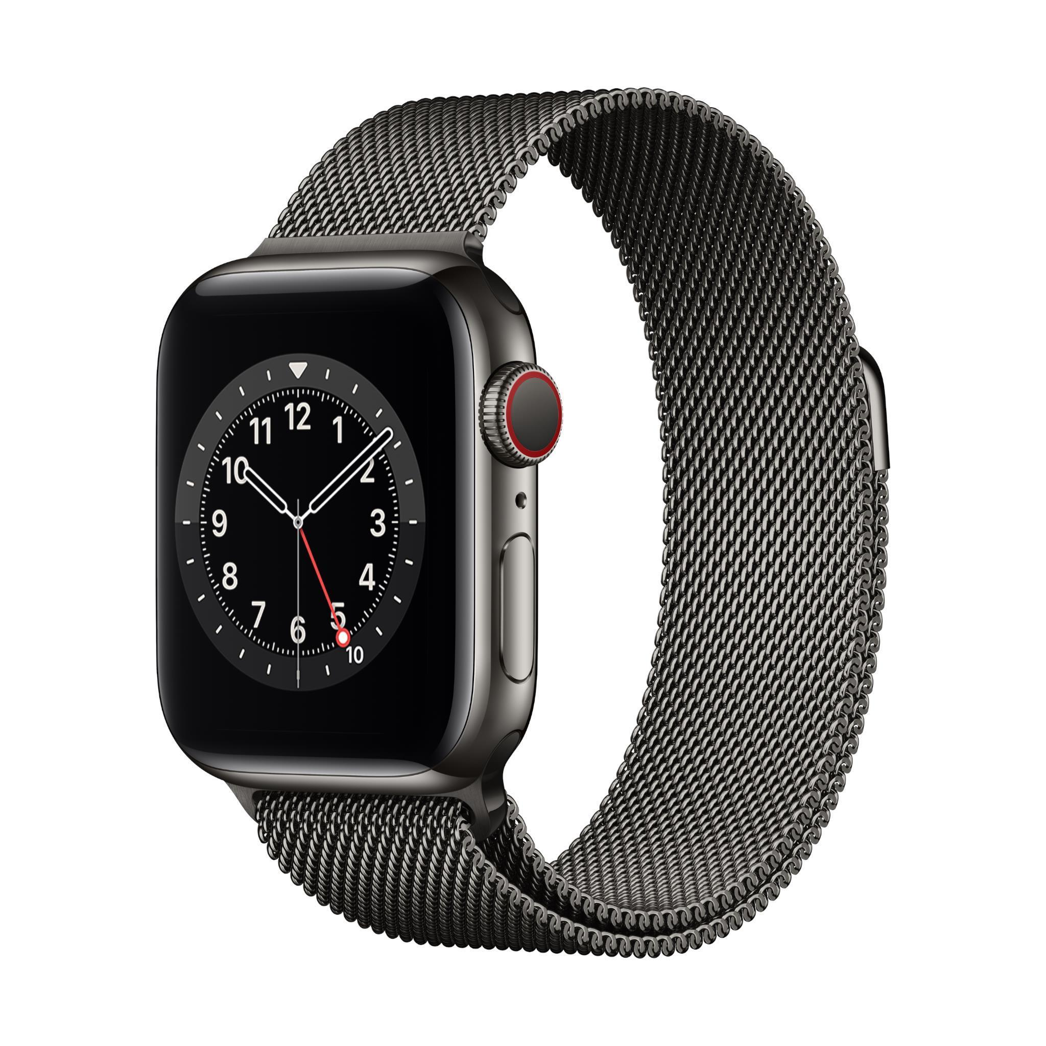 Apple Watch Series 6 40mm Graphite Stainless Steel Case GPS + Cellular