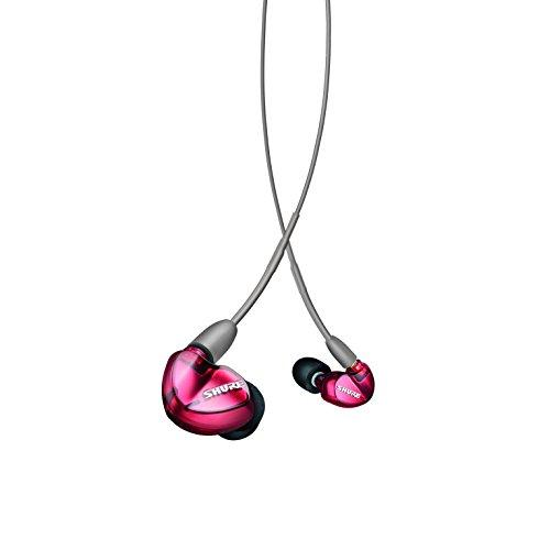 Shure SE535 Professional Sound Isolating Earphones with Triple High Definition MicroDrivers, Special Edition Red