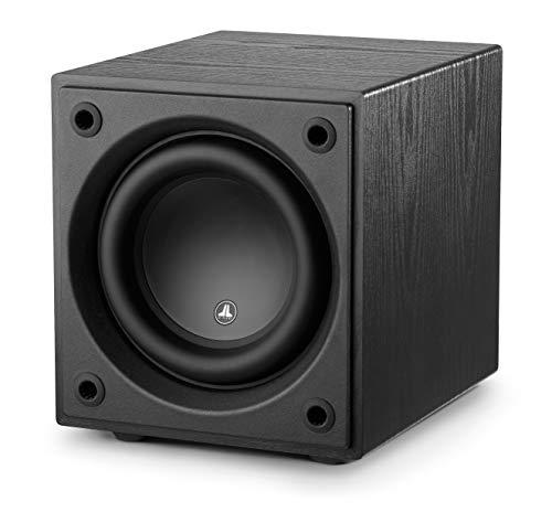 d108 Ash 8″ Subwoofer with 500 Watts of Power for Home Theatre and Music, Wireless Ready