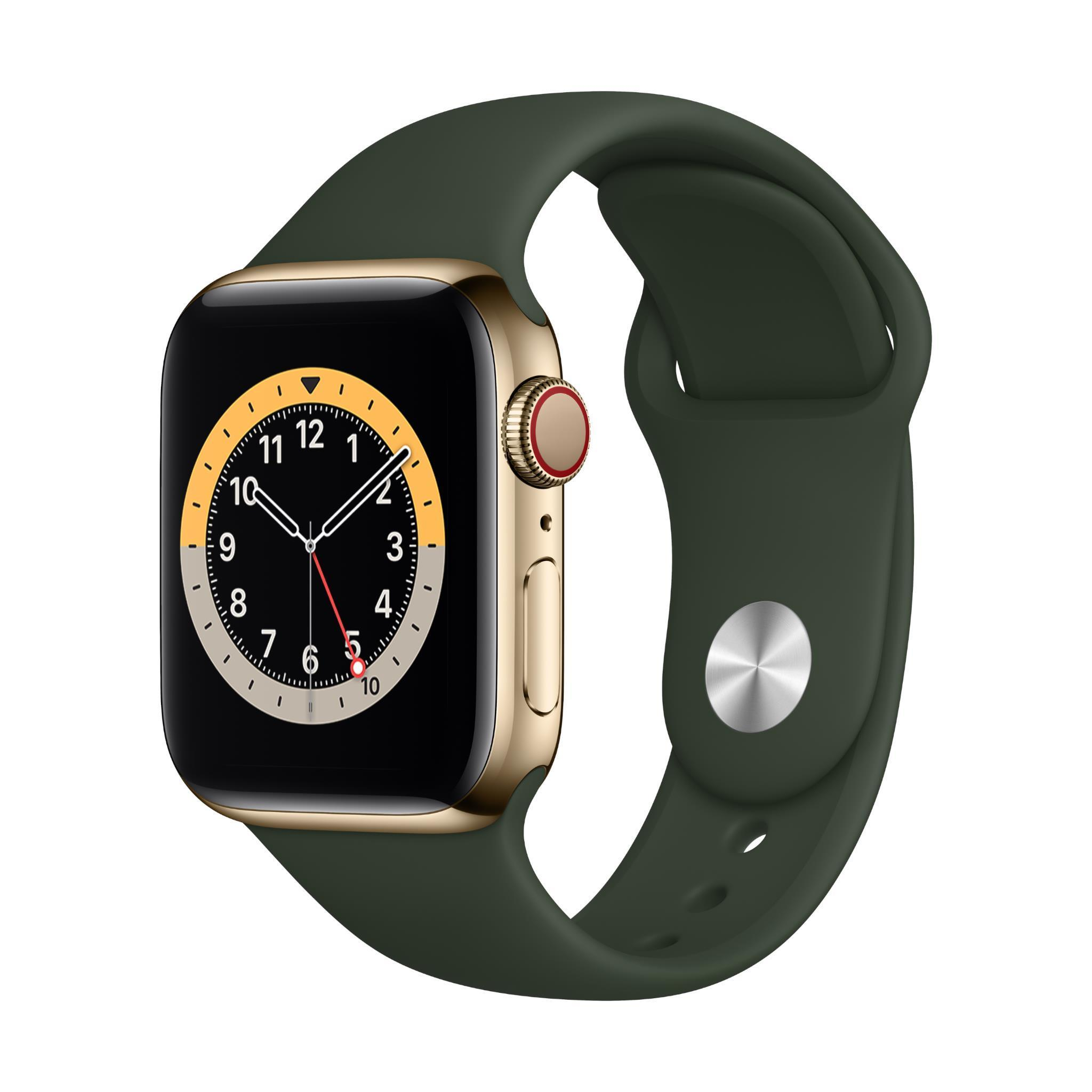 Apple Watch Series 6 40mm Gold Stainless Steel Case GPS + Cellular