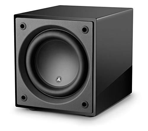 d110 Gloss 10″ Subwoofer with 750 Watts of Power for Home Theatre and Music, Wireless Ready