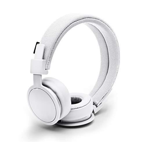 Urbanears Plattan ADV Wireless On-Ear, Bluetooth Headphones with Microphone and Remote, White