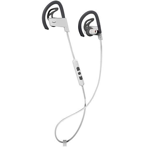 V-MODA BassFit in-Ear Wireless Sport Headphones – White, (VLCTWHITE)