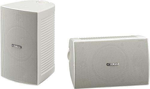 Yamaha Outdoor Speakers with Weatherproof 16cm Woofer & 2-Way bass-Reflex – NSAW294 (White)