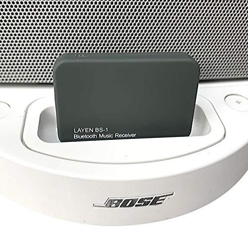 LAYEN BS-1 Bose Bluetooth Receiver 30 pin Adapter – Audio Dongle for Bose SoundDock Series 1 (Not Suitable for Cars)