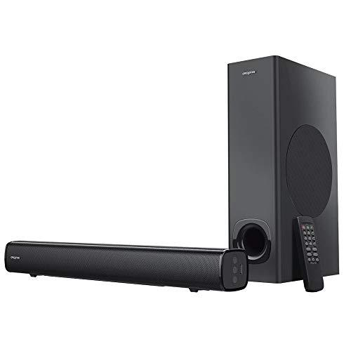 Creative Stage 2.1 Compact Under Monitor Soundbar with Subwoofer