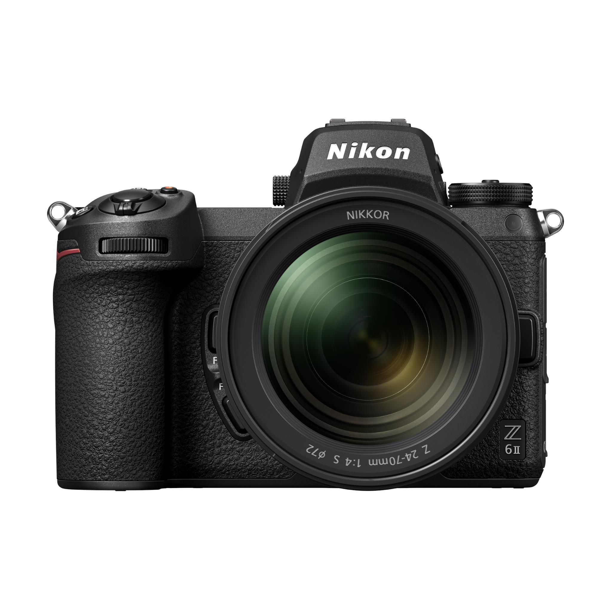 Nikon Z 6 II Mirrorless Camera with NIKKOR Z 24-70mm f/4 S Lens