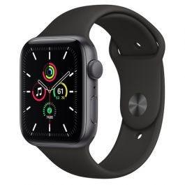 Apple Watch SE GPS 44mm Space Grey Aluminium Case with Black Sports Band