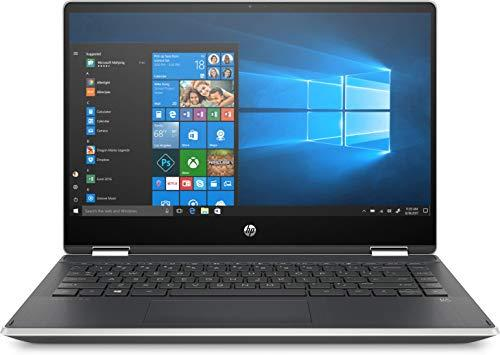 New HP Pavilion x360 Convertible 2in1 Laptop, 14-Inch Touchscreen, Full HD, Intel Core i5, 8GB RAM, 256GB SSD Storage, 3x USB Ports, HP Fast Charge and Full-Size Backlit Keyboard (Silver, 9WG75PA)