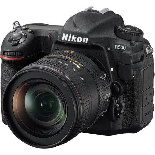Nikon D500 + AF-S DX 16-80mm f/ Single Lens Kit, Black