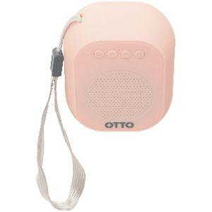 Otto Portable Bluetooth Speaker Coral