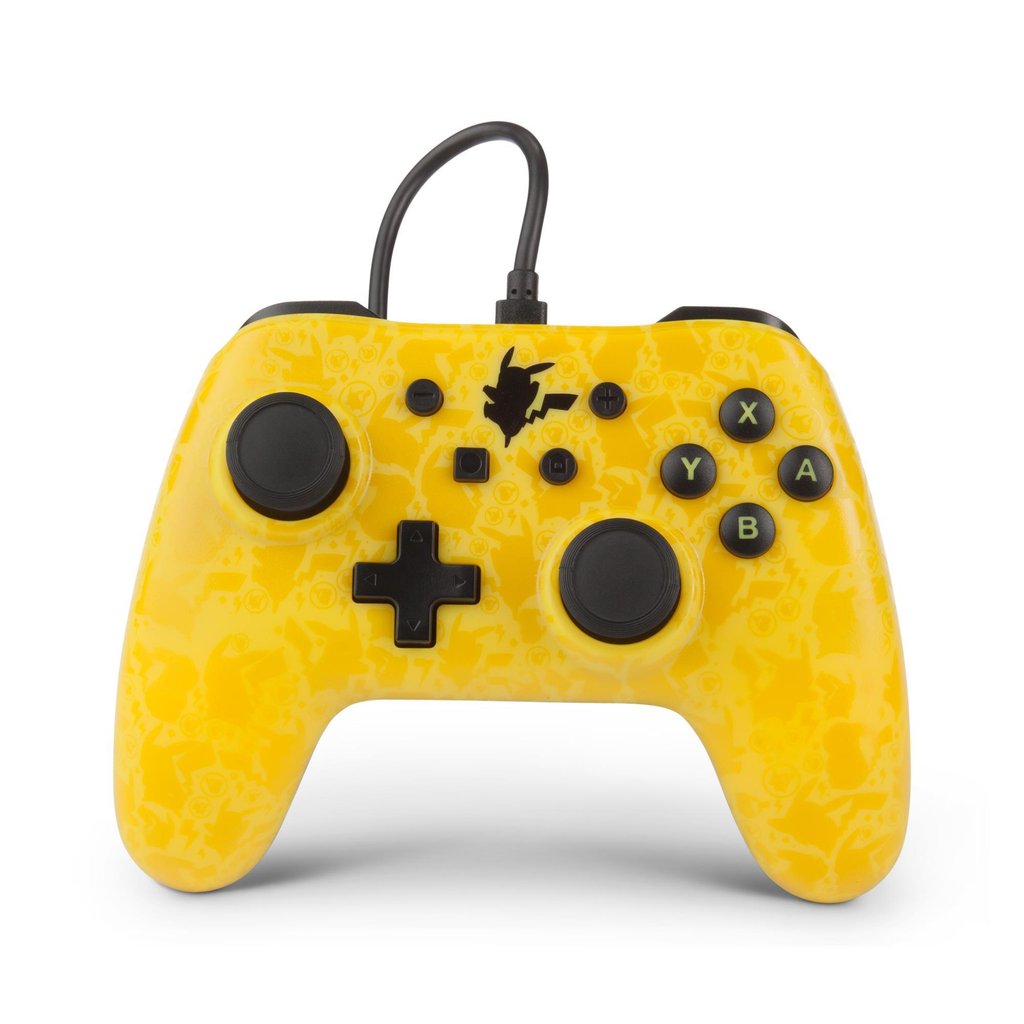 PowerA Wired Controller for Nintendo Switch (Pikachu Shadow)