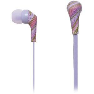Otto In-Ear Earphones Purple Swirl