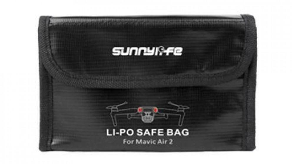 SunnyLife LiPo Safe Storage Bag for 3pcs Mavic Air 2 Battery