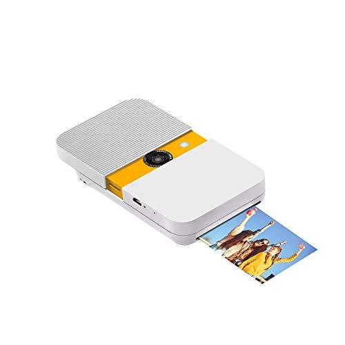 KODAK Smile Instant Camera – White & Yellow