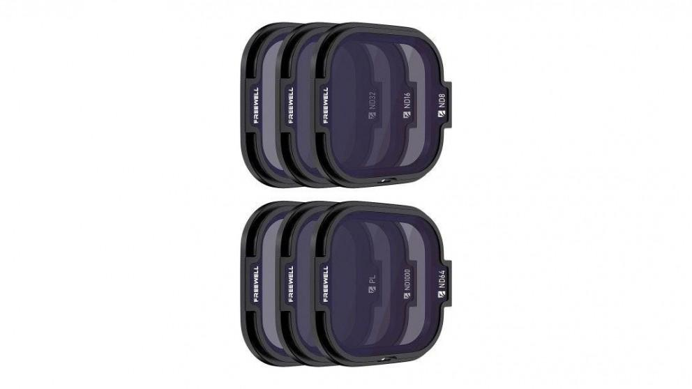 Freewell 6-pack All Day Series Filters for HERO8 Black Rollcage