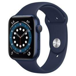 Apple Watch S6 GPS Blue Aluminium Case Deep Navy Sport Band 44mm
