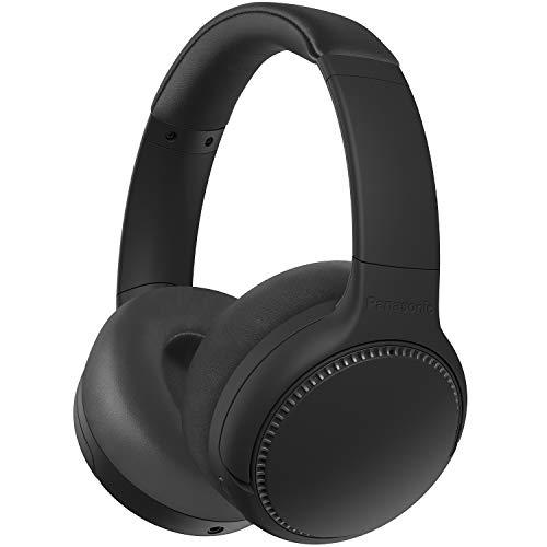 Panasonic RB-M500BE-K Deep Bass Wireless Bluetooth Headphones , Black