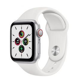Apple Watch SE GPS + Cellular Silver Aluminium Case 40mm