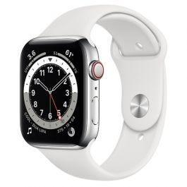Apple Watch S6 GPS + Cellular Silver Stainless Steel Case 44mm