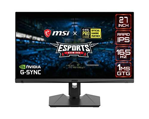 MSI Optix MAG274QRF 27-inch IPS 165Hz Gaming Monitor