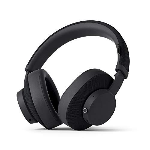 URBANEARS 1001885 Pampas Over-Ear Wireless Bluetooth Headphones, with 30+ Hours of Playtime, Collapsible Design, Control Knob and Instant Music Sharing, Charcoal Black