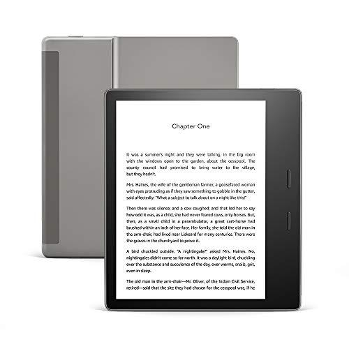 Kindle Oasis – Now with adjustable warm light – Wi-Fi (8 GB) – Graphite