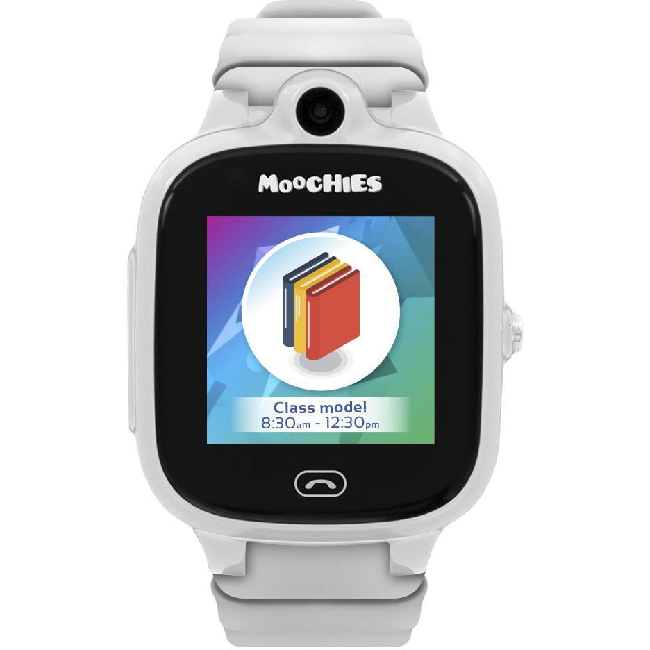 Moochies Smartwatch Phone for Kids 4G (White)