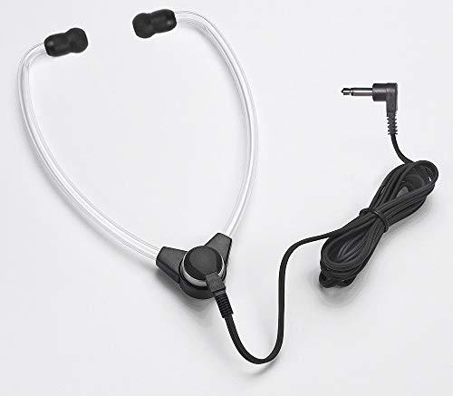 ECS-Sh-50-Saet 3.5 Mm Stetho Style Transcription Headset with Soft Antimicrobial Eartips