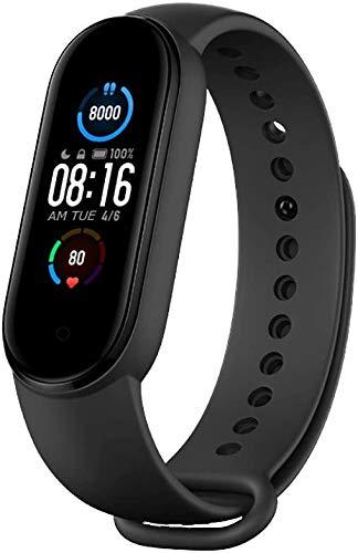 Original Xiaomi Mi Band 5 Fitness Tracker Activity Bracelet, Newest 1.1″ Dynamic Color Display Magnetic Charge 24h Heart Rate Sleep REM Nap Step Swim Sport Monitor