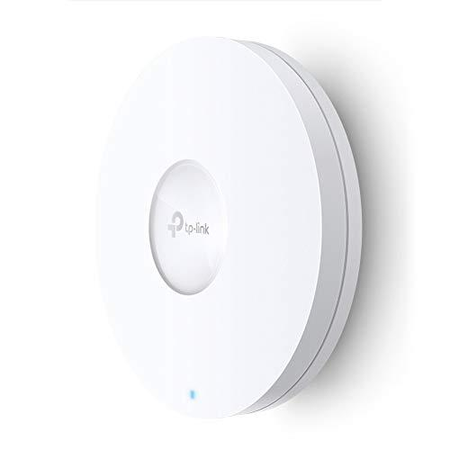 TP-Link AX3600 Wireless Dual Band Multi-Gigabit Ceiling Mount Access Point – for High-Density Deployment, Support OFDMA, Seamless Roaming & MU-MIMO, SDN, Cloud Access & Omada App (EAP660 HD)