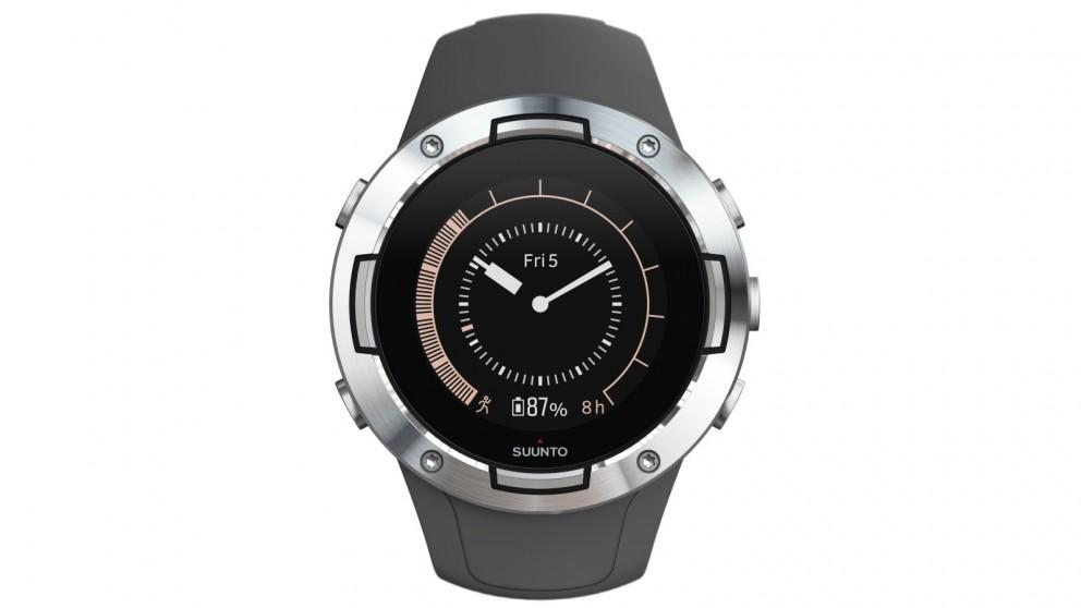 Suunto 5 GPS Watch – Graphite Steel