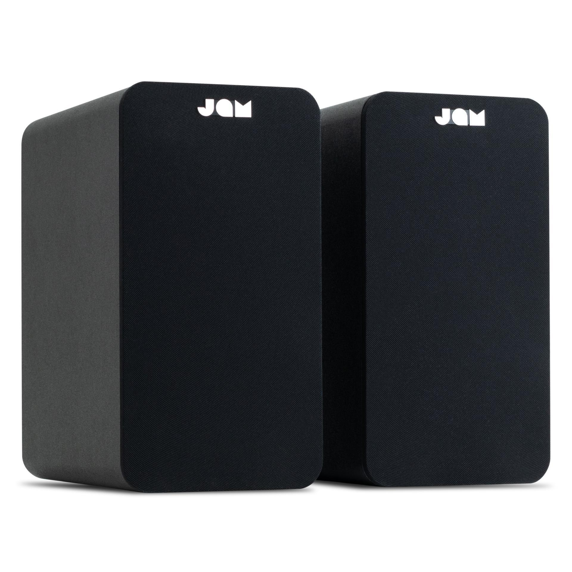 Jam Bookshelf Bluetooth Speakers (Black)